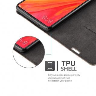 Cadorabo Hülle für Xiaomi Mi MIX 2S in KAFFEE BRAUN - Handyhülle mit Magnetverschluss, Standfunktion und Kartenfach - Case Cover Schutzhülle Etui Tasche Book Klapp Style - Vorschau 2