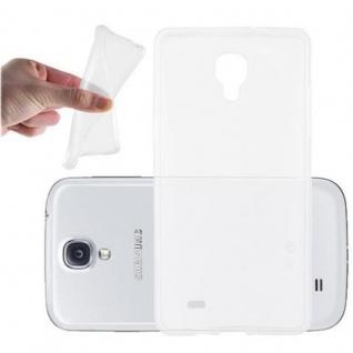 Cadorabo Hülle für Samsung Galaxy S4 MINI in VOLL TRANSPARENT - Handyhülle aus flexiblem TPU Silikon - Silikonhülle Schutzhülle Ultra Slim Soft Back Cover Case Bumper