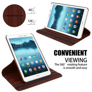 """Cadorabo Tablet Hülle für Huawei MediaPad T1 8 (8, 0"""" Zoll) in PILZ BRAUN Book Style Schutzhülle OHNE Auto Wake Up mit Standfunktion und Gummiband Verschluss - Vorschau 5"""