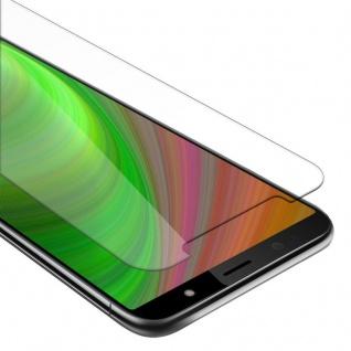 Cadorabo Panzer Folie für HTC U12 LIFE - Schutzfolie in KRISTALL KLAR - Gehärtetes (Tempered) Display-Schutzglas in 9H Härte mit 3D Touch Kompatibilität