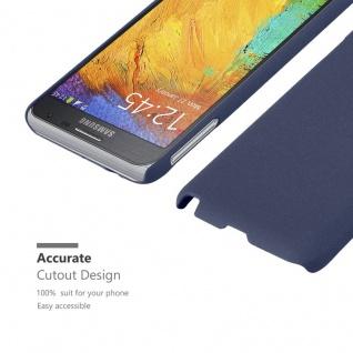 Cadorabo Hülle für Samsung Galaxy NOTE 3 NEO in FROSTY BLAU - Hardcase Handyhülle aus Plastik gegen Kratzer und Stöße - Schutzhülle Bumper Ultra Slim Back Case Hard Cover - Vorschau 5