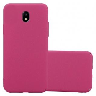 Cadorabo Hülle für Samsung Galaxy J5 2017 in FROSTY PINK - Hardcase Handyhülle aus Plastik gegen Kratzer und Stöße - Schutzhülle Bumper Ultra Slim Back Case Hard Cover