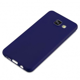 Cadorabo Hülle für Samsung Galaxy A3 2016 in CANDY DUNKEL BLAU - Handyhülle aus flexiblem TPU Silikon - Silikonhülle Schutzhülle Ultra Slim Soft Back Cover Case Bumper - Vorschau 4