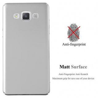 Cadorabo Hülle für Samsung Galaxy A5 2015 in METALL SILBER ? Hardcase Handyhülle aus Plastik gegen Kratzer und Stöße ? Schutzhülle Bumper Ultra Slim Back Case Hard Cover - Vorschau 2
