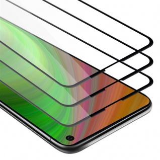 Cadorabo 3x Vollbild Panzer Folie für Samsung Galaxy S10E - Schutzfolie in TRANSPARENT mit SCHWARZ - 3er Pack Gehärtetes (Tempered) Display-Schutzglas in 9H Härte mit 3D Touch