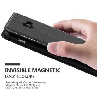 Cadorabo Hülle für Samsung Galaxy A3 2017 in SCHWARZ BRAUN ? Handyhülle mit Magnetverschluss, Standfunktion und Kartenfach ? Case Cover Schutzhülle Etui Tasche Book Klapp Style - Vorschau 4