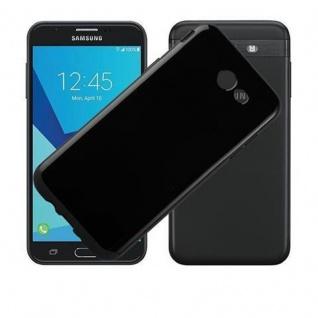 Cadorabo Hülle für Samsung Galaxy J7 2017 US Version in SCHWARZ - Handyhülle aus flexiblem TPU Silikon - Silikonhülle Schutzhülle Ultra Slim Soft Back Cover Case Bumper - Vorschau 2