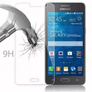 Cadorabo Panzer Folie für Samsung Galaxy GRAND PRIME - Schutzfolie in KRISTALL KLAR - Gehärtetes (Tempered) Display-Schutzglas in 9H Härte mit 3D Touch Kompatibilität - Vorschau 3