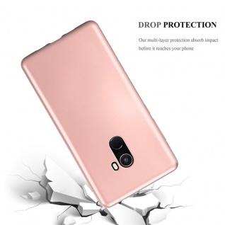 Cadorabo Hülle für Xiaomi Mi Mix 2 in METALLIC ROSÉ GOLD - Handyhülle aus flexiblem TPU Silikon - Silikonhülle Schutzhülle Ultra Slim Soft Back Cover Case Bumper - Vorschau 3