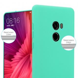 Cadorabo Hülle für Xiaomi Mi Mix 2 in FROSTY GRÜN - Hardcase Handyhülle aus Plastik gegen Kratzer und Stöße - Schutzhülle Bumper Ultra Slim Back Case Hard Cover - Vorschau 3