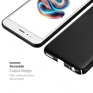 Cadorabo Hülle für Xiaomi Mi A1 / 5X in METALL SCHWARZ ? Hardcase Handyhülle aus Plastik gegen Kratzer und Stöße ? Schutzhülle Bumper Ultra Slim Back Case Hard Cover - Vorschau 5