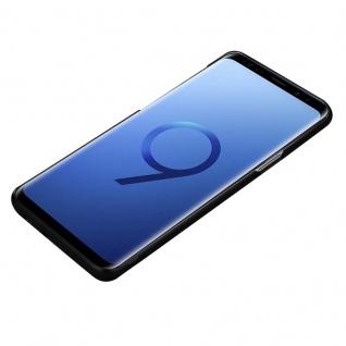 Cadorabo Hülle für Samsung Galaxy S9 in METALL SCHWARZ - Hardcase Handyhülle aus Plastik gegen Kratzer und Stöße - Schutzhülle Bumper Ultra Slim Back Case Hard Cover - Vorschau 3