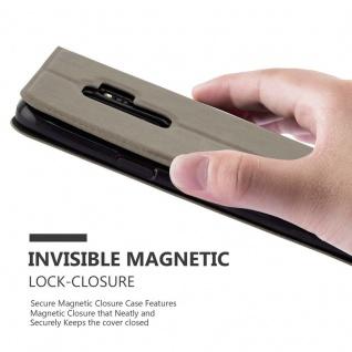 Cadorabo Hülle für Samsung Galaxy S9 PLUS in STEIN BRAUN ? Handyhülle mit Magnetverschluss, Standfunktion und 2 Sichtfenstern ? Case Cover Schutzhülle Etui Tasche Book Klapp Style - Vorschau 5