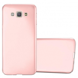 Cadorabo Hülle für Samsung Galaxy A8 2015 in METALL ROSÉ GOLD ? Hardcase Handyhülle aus Plastik gegen Kratzer und Stöße ? Schutzhülle Bumper Ultra Slim Back Case Hard Cover