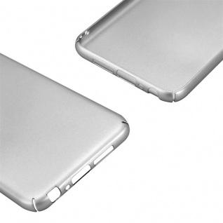 Cadorabo Hülle für HTC One A9 in METALL SILBER ? Hardcase Handyhülle aus Plastik gegen Kratzer und Stöße ? Schutzhülle Bumper Ultra Slim Back Case Hard Cover - Vorschau 5
