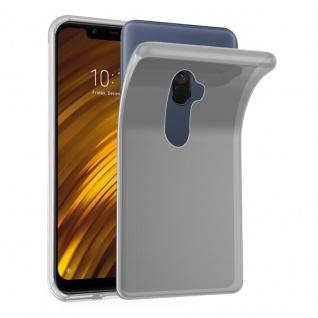 Cadorabo Hülle für Xiaomi Pocophone F1 in VOLL TRANSPARENT - Handyhülle aus flexiblem TPU Silikon - Silikonhülle Schutzhülle Ultra Slim Soft Back Cover Case Bumper