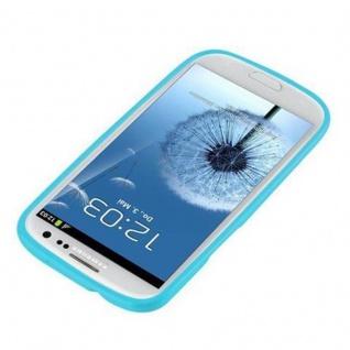 Cadorabo Hülle für Samsung Galaxy S3 MINI in JELLY HELL BLAU - Handyhülle aus flexiblem TPU Silikon - Silikonhülle Schutzhülle Ultra Slim Soft Back Cover Case Bumper - Vorschau 2