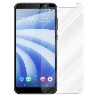 Cadorabo Panzer Folie für HTC U12 LITE - Schutzfolie in KRISTALL KLAR - Gehärtetes (Tempered) Display-Schutzglas in 9H Härte mit 3D Touch Kompatibilität - Vorschau 2