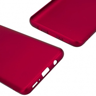 Cadorabo Hülle für Samsung Galaxy S9 PLUS in METALL ROT - Hardcase Handyhülle aus Plastik gegen Kratzer und Stöße - Schutzhülle Bumper Ultra Slim Back Case Hard Cover - Vorschau 5