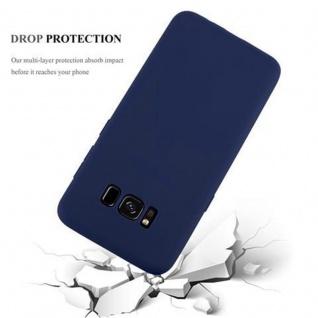 Cadorabo Hülle für Samsung Galaxy S8 in CANDY DUNKEL BLAU - Handyhülle aus flexiblem TPU Silikon - Silikonhülle Schutzhülle Ultra Slim Soft Back Cover Case Bumper - Vorschau 4