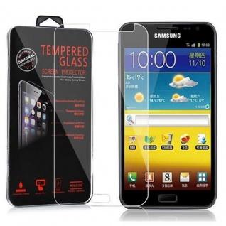 Cadorabo Panzer Folie für Samsung Galaxy NOTE - Schutzfolie in KRISTALL KLAR - Gehärtetes (Tempered) Display-Schutzglas in 9H Härte mit 3D Touch Kompatibilität