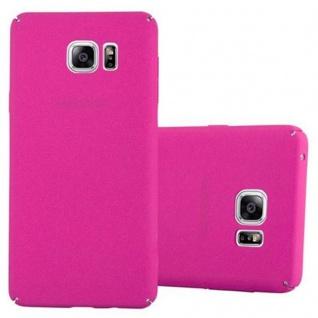 Cadorabo Hülle für Samsung Galaxy NOTE 5 in FROSTY PINK - Hardcase Handyhülle aus Plastik gegen Kratzer und Stöße - Schutzhülle Bumper Ultra Slim Back Case Hard Cover