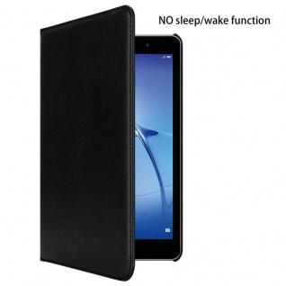 """"""" Cadorabo Tablet Hülle für Huawei MediaPad T3 8 (8, 0"""" Zoll) in HOLUNDER SCHWARZ ? Book Style Schutzhülle OHNE Auto Wake Up mit Standfunktion und Gummiband Verschluss"""" - Vorschau 2"""