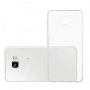 Cadorabo Hülle für Samsung Galaxy A5 2016 (6) - Hülle in TRANSPARENT WEIß - Handyhülle aus TPU Silikon im Strass Design - Silikonhülle Schutzhülle Ultra Slim Soft Back Cover Case Bumper - Vorschau 4