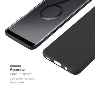 Cadorabo Hülle für Samsung Galaxy S9 PLUS in FROSTY SCHWARZ - Hardcase Handyhülle aus Plastik gegen Kratzer und Stöße - Schutzhülle Bumper Ultra Slim Back Case Hard Cover - Vorschau 5