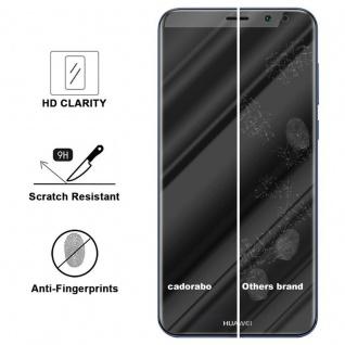Cadorabo Panzer Folie für Huawei MATE 10 LITE - Schutzfolie in KRISTALL KLAR - Gehärtetes (Tempered) Display-Schutzglas in 9H Härte mit 3D Touch Kompatibilität - Vorschau 3