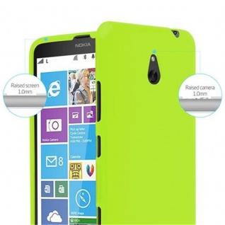 Cadorabo Hülle für Nokia Lumia 1320 in JELLY GRÜN ? Handyhülle aus flexiblem TPU Silikon ? Silikonhülle Schutzhülle Ultra Slim Soft Back Cover Case Bumper - Vorschau 5