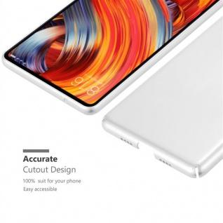 Cadorabo Hülle für Xiaomi Mi Mix 2 in METALL SILBER - Hardcase Handyhülle aus Plastik gegen Kratzer und Stöße - Schutzhülle Bumper Ultra Slim Back Case Hard Cover - Vorschau 5