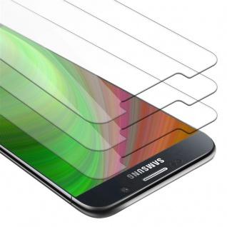 Cadorabo 3x Panzer Folie für Samsung Galaxy NOTE 5 - Schutzfolie in KRISTALL KLAR - 3er Pack Gehärtetes (Tempered) Display-Schutzglas in 9H Härte mit 3D Touch Kompatibilität