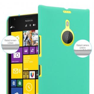 Cadorabo Hülle für Nokia Lumia 1520 in FROSTY GRÜN - Hardcase Handyhülle aus Plastik gegen Kratzer und Stöße - Schutzhülle Bumper Ultra Slim Back Case Hard Cover - Vorschau 4