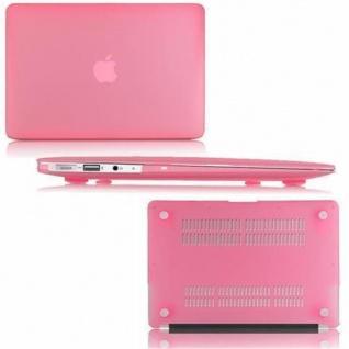 Cadorabo - Mattes HardCase für Apple MacBook AIR 11 (Zoll) ? Case Hartschale Schutzhülle Cover MacBook Tasche in PINK - leicht und schützend