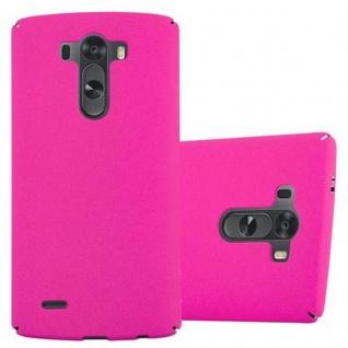 Cadorabo Hülle für LG G3 in FROSTY PINK - Hardcase Handyhülle aus Plastik gegen Kratzer und Stöße - Schutzhülle Bumper Ultra Slim Back Case Hard Cover