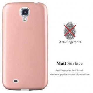 Cadorabo Hülle für Samsung Galaxy S4 in METALL ROSE GOLD - Hardcase Handyhülle aus Plastik gegen Kratzer und Stöße - Schutzhülle Bumper Ultra Slim Back Case Hard Cover - Vorschau 2