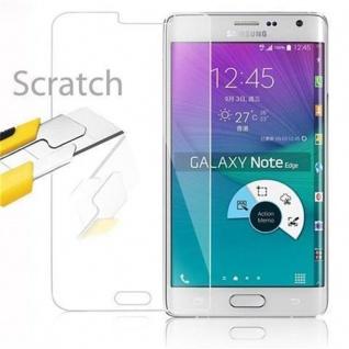 Cadorabo Panzer Folie für Samsung Galaxy S6 EDGE - Schutzfolie in KRISTALL KLAR - Gehärtetes (Tempered) Display-Schutzglas in 9H Härte mit 3D Touch Kompatibilität - Vorschau 3
