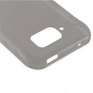 Cadorabo Hülle für Samsung Galaxy S6 ACTIVE in TRANSPARENT SCHWARZ - Handyhülle aus flexiblem TPU Silikon - Silikonhülle Schutzhülle Ultra Slim Soft Back Cover Case Bumper - Vorschau 4