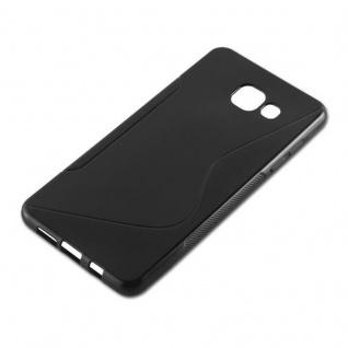 Cadorabo Hülle für Samsung Galaxy A5 2016 in OXID SCHWARZ ? Handyhülle aus flexiblem TPU Silikon ? Silikonhülle Schutzhülle Ultra Slim Soft Back Cover Case Bumper - Vorschau 2