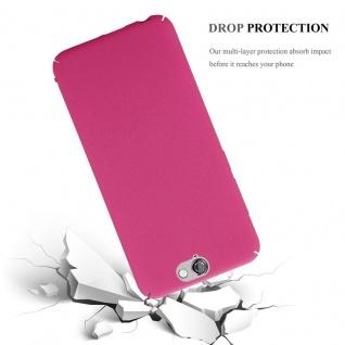 Cadorabo Hülle für HTC One A9 in FROSTY PINK - Hardcase Handyhülle aus Plastik gegen Kratzer und Stöße - Schutzhülle Bumper Ultra Slim Back Case Hard Cover - Vorschau 4
