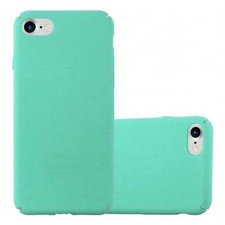 Cadorabo Hülle für Apple iPhone 7 / iPhone 7S / iPhone 8 in FROSTY GRÜN - Hardcase Handyhülle aus Plastik gegen Kratzer und Stöße - Schutzhülle Bumper Ultra Slim Back Case Hard Cover