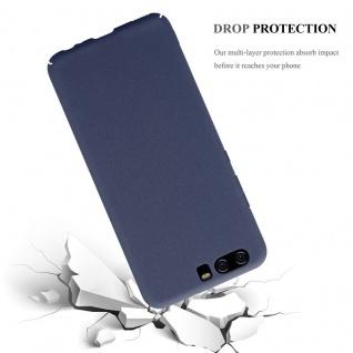 Cadorabo Hülle für Huawei P10 in FROSTY BLAU - Hardcase Handyhülle aus Plastik gegen Kratzer und Stöße - Schutzhülle Bumper Ultra Slim Back Case Hard Cover - Vorschau 4