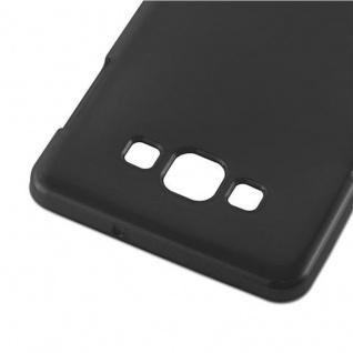 Cadorabo Hülle für Samsung Galaxy A7 2015 in SCHWARZ - Handyhülle aus flexiblem TPU Silikon - Silikonhülle Schutzhülle Ultra Slim Soft Back Cover Case Bumper - Vorschau 4
