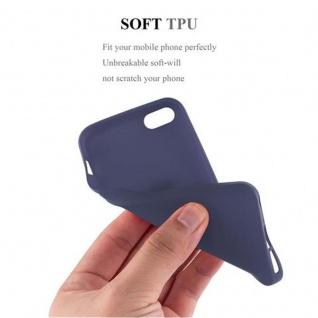 Cadorabo Hülle für Apple iPhone 5 / iPhone 5S / iPhone SE in FROST DUNKEL BLAU - Handyhülle aus flexiblem TPU Silikon - Silikonhülle Schutzhülle Ultra Slim Soft Back Cover Case Bumper - Vorschau 4