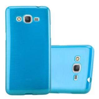 Cadorabo Hülle für Samsung Galaxy GRAND PRIME in TÜRKIS - Handyhülle aus flexiblem TPU Silikon - Silikonhülle Schutzhülle Ultra Slim Soft Back Cover Case Bumper