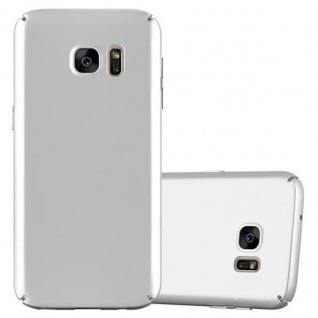 Cadorabo Hülle für Samsung Galaxy S7 in METALL SILBER ? Hardcase Handyhülle aus Plastik gegen Kratzer und Stöße ? Schutzhülle Bumper Ultra Slim Back Case Hard Cover