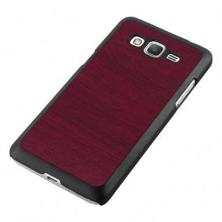 Cadorabo Hülle für Samsung Galaxy J5 2015 in WOODY ROT ? Hardcase Handyhülle aus Plastik gegen Kratzer und Stöße ? Schutzhülle Bumper Ultra Slim Back Case Hard Cover - Vorschau 4