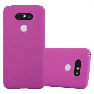 Cadorabo Hülle für LG G5 in FROSTY PINK - Hardcase Handyhülle aus Plastik gegen Kratzer und Stöße - Schutzhülle Bumper Ultra Slim Back Case Hard Cover