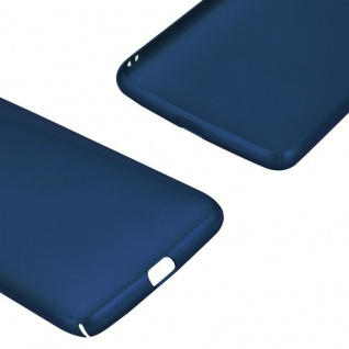 Cadorabo Hülle für Motorola MOTO G5 in METALL BLAU - Hardcase Handyhülle aus Plastik gegen Kratzer und Stöße - Schutzhülle Bumper Ultra Slim Back Case Hard Cover - Vorschau 5